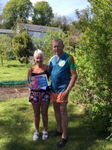 Mary Loua and Aled Community Stars